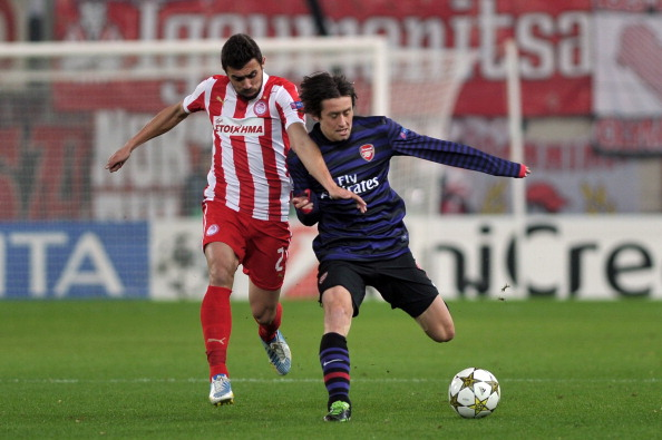 Match Report: Olympiacos 2-1 Arsenal