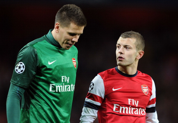Szczesny plays up Gooner credentials